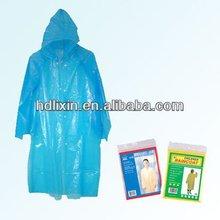 Disposable raincoat Walmart factory