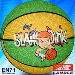 Standard Size cheap rubber basketball