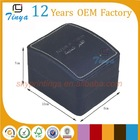 PU leather empty watch gift boxes with insert