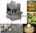 Alta efficinecy frutas automática máquina de descascar/apple peeling máquina/descascador de laranja