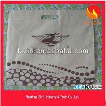 silver laminated non-woven tote bag