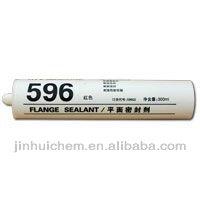 596 Silicone flange sealant , High temperature resistance RTV silicone sealant 596