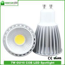 Super brightness, 80 CRI OR 90 CRI 5W 7W COB GU10 LED light
