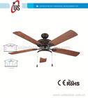 52''Decorative Ceiling Fan emergency light with fan