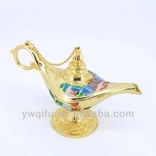 qifu enamel metal brass aladdin oil lamp jewelry box (QF3404-1)