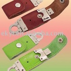 Leather USB Flash drives gift 4GB