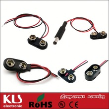 9V Battery holder Clips UL CE ROHS 1487