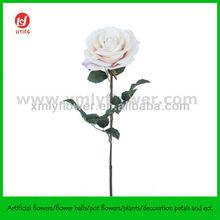 """26"""" Artificial Velvet Rose white for wedding, home decor"""