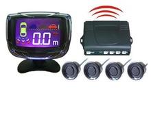wireless LCD parking sensor, car reverse aid system