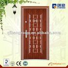 Security Steel Door with 2 locks H.S code: 73083000(QH-0133)