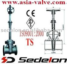 Rising stem big size Gate valve