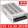 15v ac/dc transformer ac dc switching power supply 201w