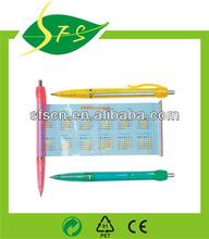cheap plastic banner ballpen