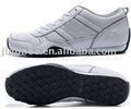 hombres 2013 venta al por mayor de moda de cuero de la marca deporte zapatillas para los hombre