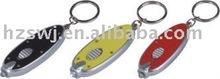 LED plastic key chain/promotion LED key chain