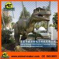 Playground estátua de bronze animais dinossauros