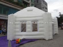 exterior branco pvc bolha inflável da barraca