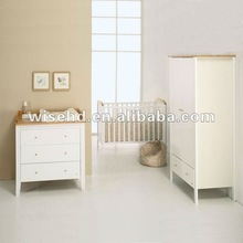 (W-BB-82) solid pine wood baby furniture