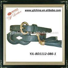 pendant and tassels fashion PU belt 2012