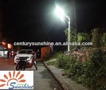 supply 50W wind&solar hybrid LED street light