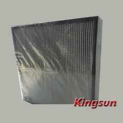 Aluminum Separator pleated Hepa Filter H13
