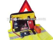 YYS12026 emergency car kit with single foot pump