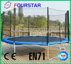 14FT Big Bounce Trampoline Cheap Trampoline for Sale Professional Trampoline with Safety Enclousure SX-FT(E)