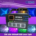 profesional luz de la etapa ilda 20k 1000mw láser rgb