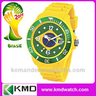 Factory Wholesale China Watches OEM Alloy Stainless steel Plastic Silicone own brand watch gift watch world cup watch