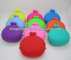 2013 hotselling Heart shape silicone purse