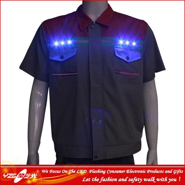 fábrica de colete de segurança com luzes led