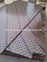 China construction Marine Plywood duraplex wbp glue film faced plywood
