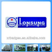 Supply custom metal logo, print badge,3D logo nickel logo