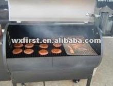 Fiberglass heat resistant BBQ grill sheet