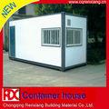 lusso modulare prefabbricata e pieghevole mobile spedizione casa del contenitore
