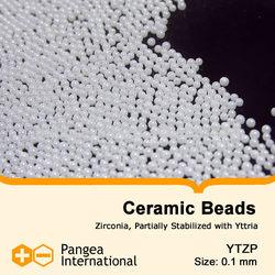 0.1mm YTZP Ceramic Beads,Ceramic Grinding Media, Ceramic Grinding beads