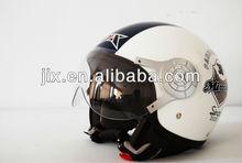 2013 New Motor Cross Open Face Helmet B256 Blue-White
