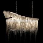Luxury hotel projection modern decorative hanging chandelier
