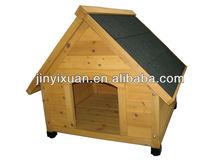 Asphalt roof wood dog house / dog kennel / pet cage
