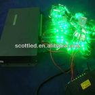 matrix 8 port branch light dmx 512 rgb led controller; control 8192 pixels