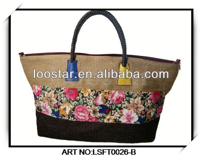 Latest Hot Brown Leather Shoulder Long Strap Bag