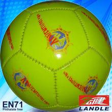 leather machine-stitch mini soccer ball