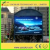 high resolution P12 Advertising electronic outdoor full color led wall