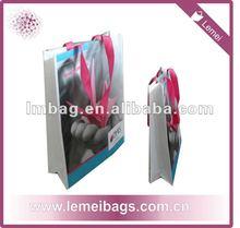 non-woven laminated shopping bag