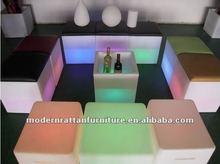 flash LED illuminated light furniture bar furniture