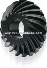 plastic black oil nylon gear/spiral bevel gear/gear factory