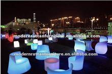 new design flash LED illuminated light chairs furniture