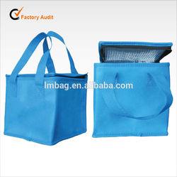 colorful eco non woven cooler bag