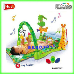 BNI500007 Fisher Price Good Selling Soft Funny Baby Play Mat Baby Gym