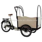 family electric Cargo Bikes for children